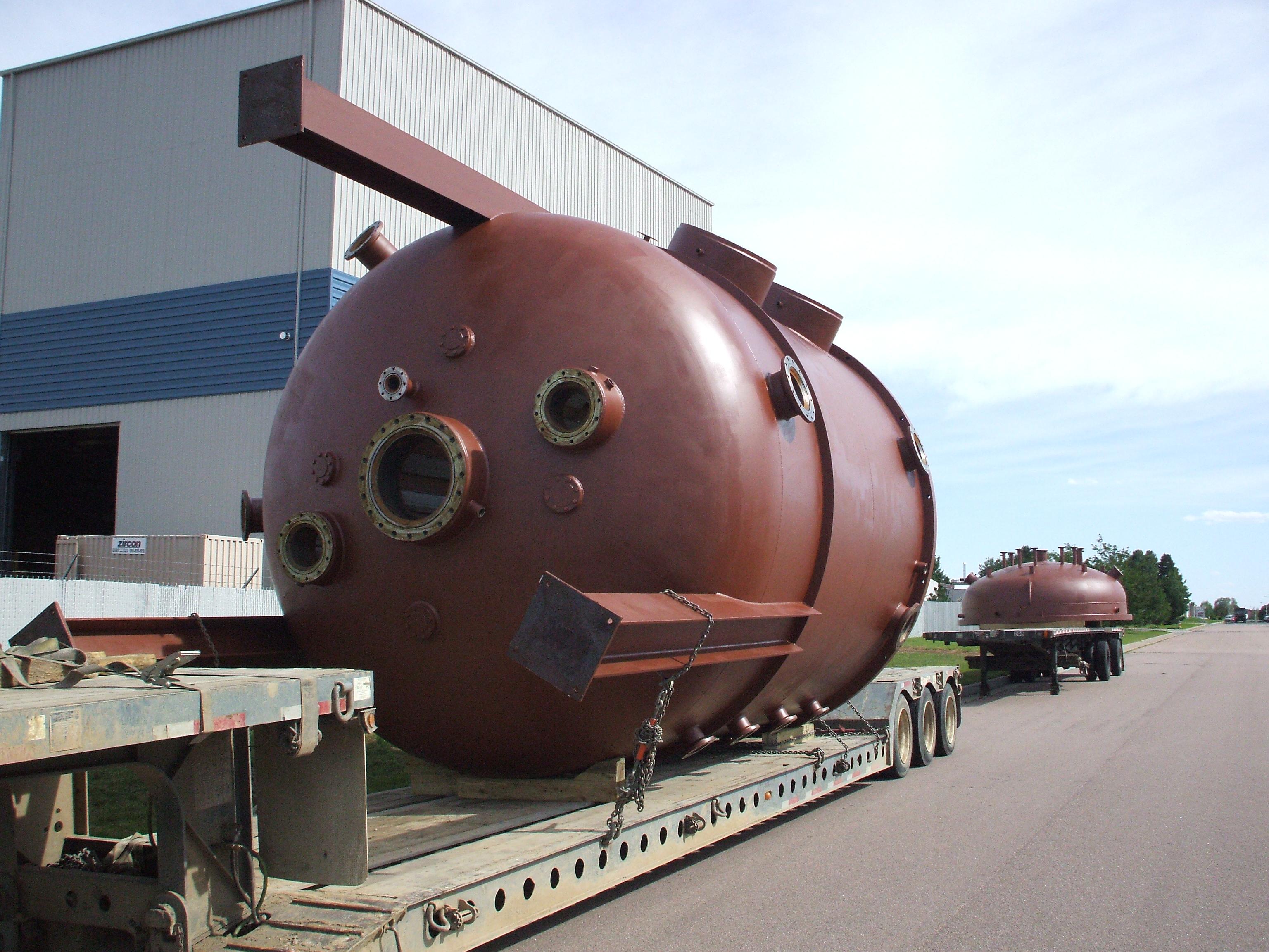 ASME Furnace Vessel