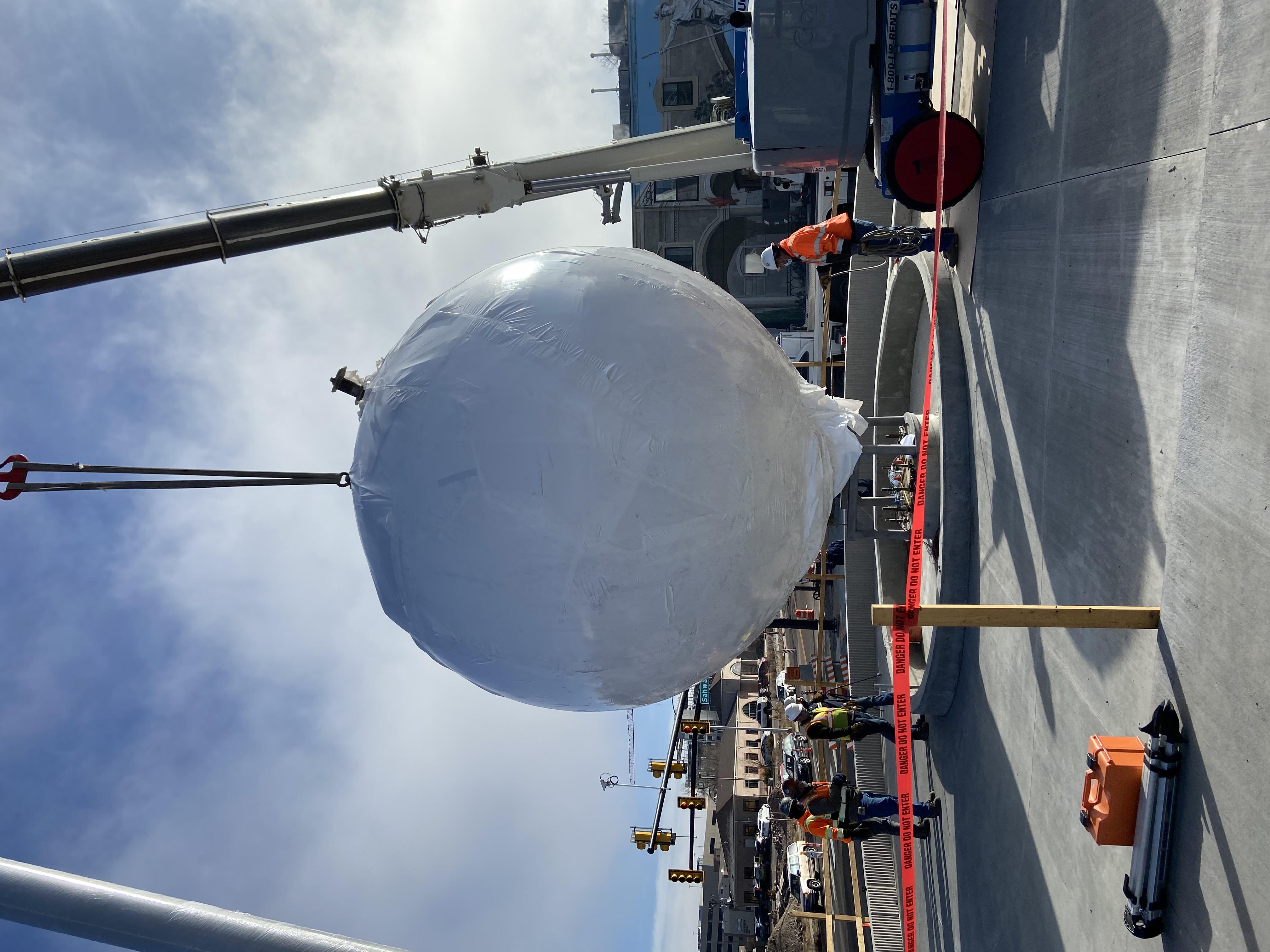 Sphere Installation