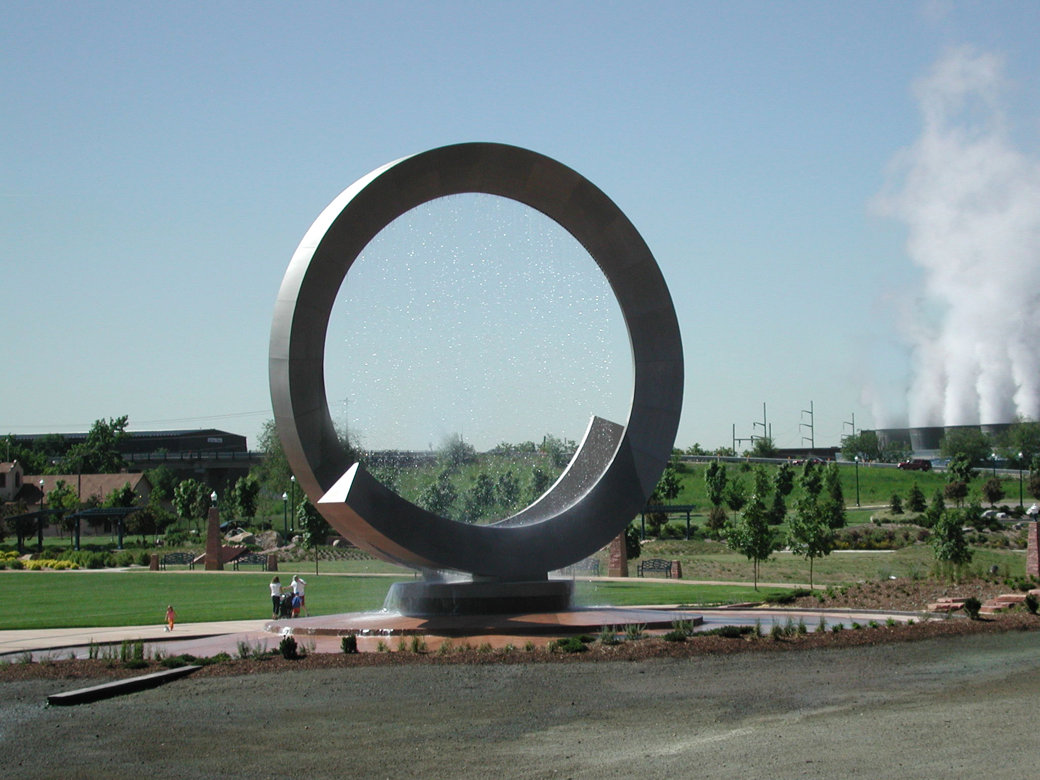 Julie Penrose Fountain in America the Beautiful park